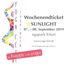 Wochenendticket SUNLIGHT 07. - 08.09.2019